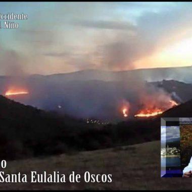 Controlado el incendio declarado en Ferreira (Santalla de Oscos)
