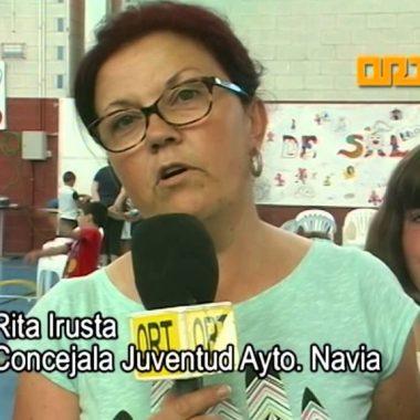 """Más de 130 niños participaron en los Talleres """"Sal y Pimienta"""" de Navia y Puerto de Vega"""