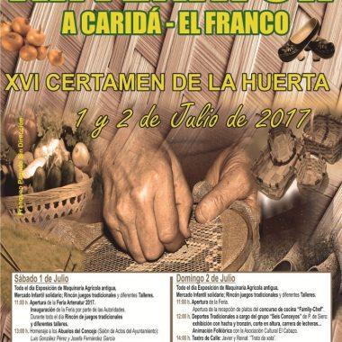 Actividades para todos los públicos en la XVI Edición de Artenatur (A Caridá, El Franco)