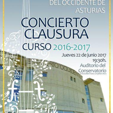 Termina el Curso en el Conservatorio de Música del Occidente (Luarca, Valdés)