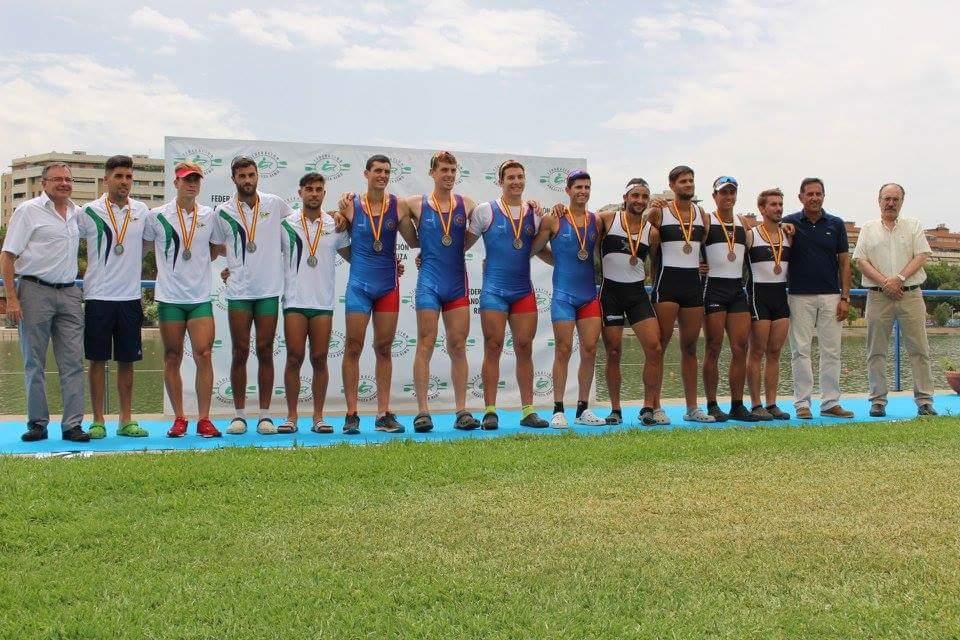 Tres Medallas para los Remeros del Noroccidente en el Nacional de Remo Olímpico