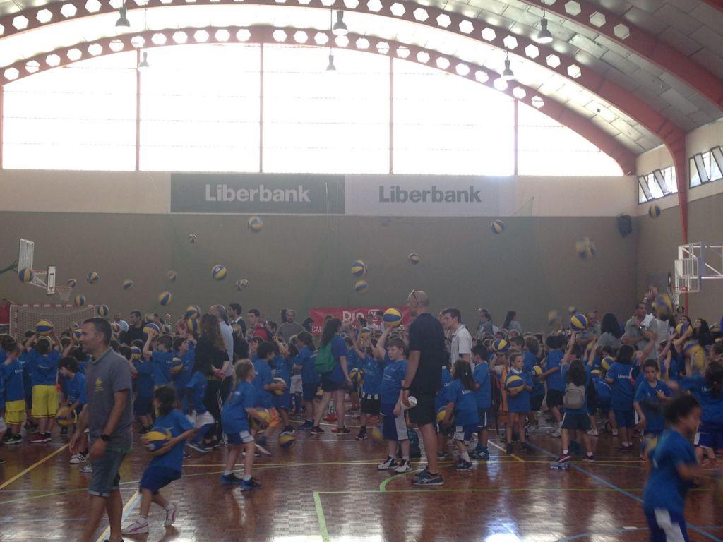 Más de 500 jugadores participaron en la Final de la Liga Baby de Basket celebrada en Luarca