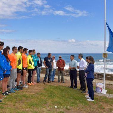 Las playas de la comarca mantienen sus Banderas Azules