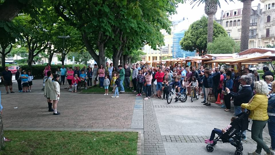 Ventas por valor de 10.000 euros en la IV Feria del Libro de Ribadeo