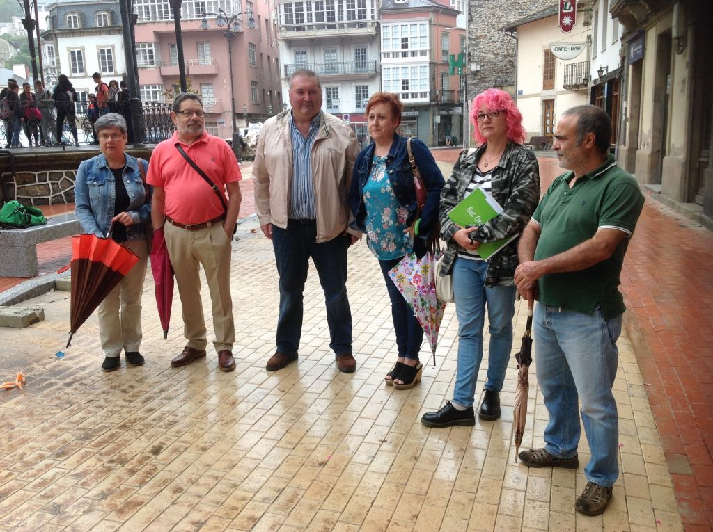 El coordinador general de IU, Argüelles, pone el Cine Goya de Luarca como ejemplo de una nefasta gestión pública