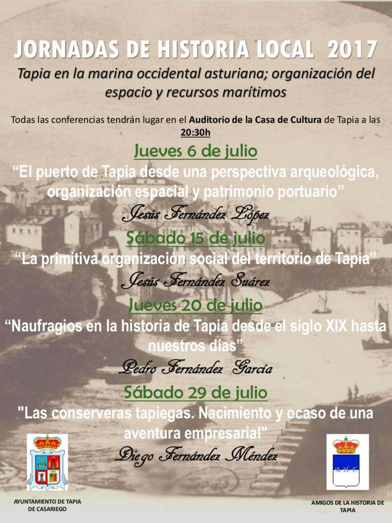 Comienzan las III Jornadas de Historia Local de Tapia