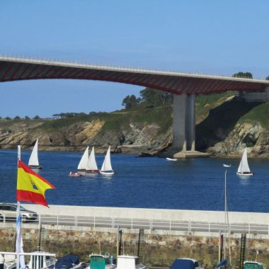Máis Vento venció en la regata de vela tradicional Trofeo Concello de Ribadeo