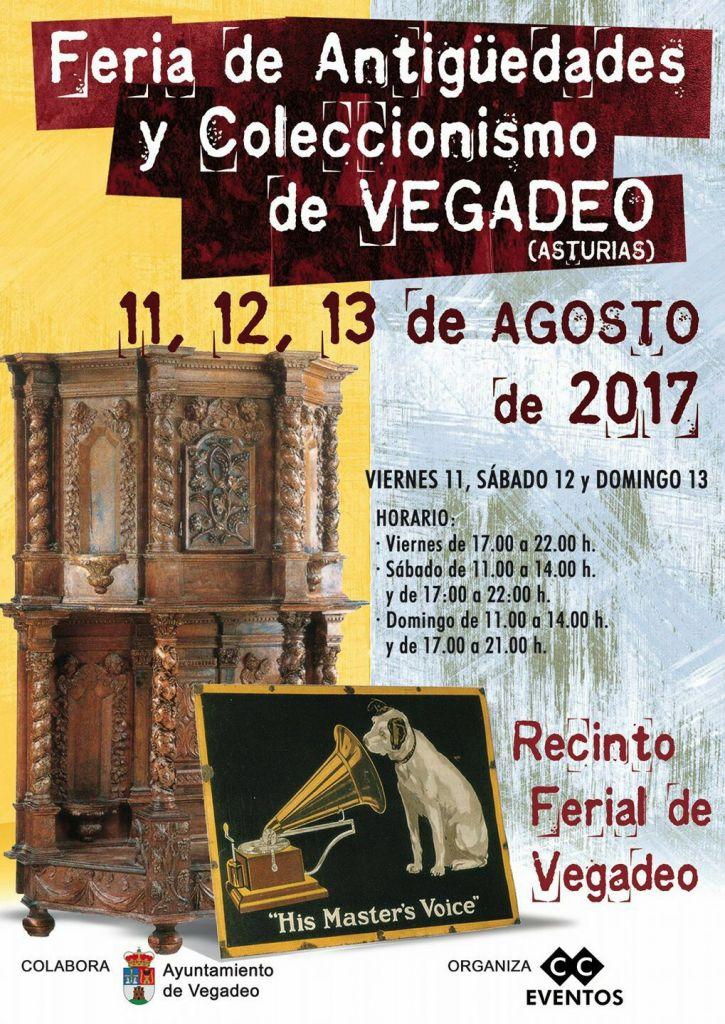 VI Feria de Antigüedades y Coleccionismo en el Ferial de Vegadeo