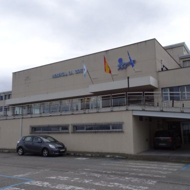 Carta de agradecimiento a la UCI del Hospital da Costa de Burela