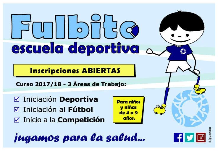 Apertura de inscripciones de la Escuela Deportiva Fulbito