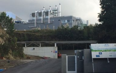 La inspección ambiental realizada a la planta de purines de Navia se resuelve sin anomalías