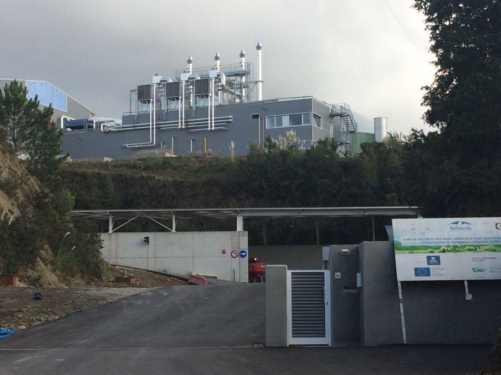 La planta de purines de Navia podría estar a pleno rendimiento en abril o mayo