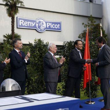 """El Presidente del Principado ejemplifica con Ilas-Reny Picot """"la innovación y tecnología"""" que requiere el futuro del medio rural"""