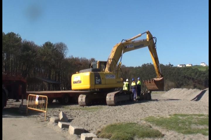 Comienza la obra de restauración de La Poza de Navia