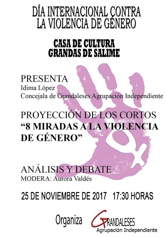 Grandaleses conmemora este 25 de noviembre, el Día Internacional contra la Violencia de Género