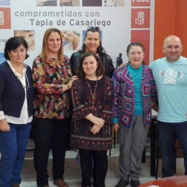 Natividad Fernández, nueva secretaria general del Psoe de Tapia