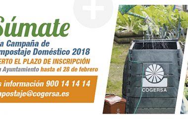 Abierto el plazo para participar en la campaña de compostaje doméstico de Cogersa