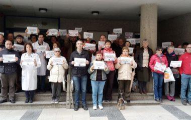 Nueva concentración en defensa de la Sanidad Pública en Ribadeo