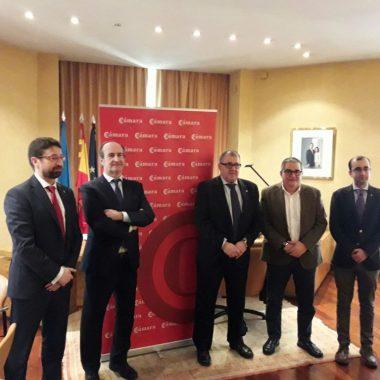 Cámara de Comercio de Oviedo y ayuntamientos renuevan su compromiso con las Antenas Camerales