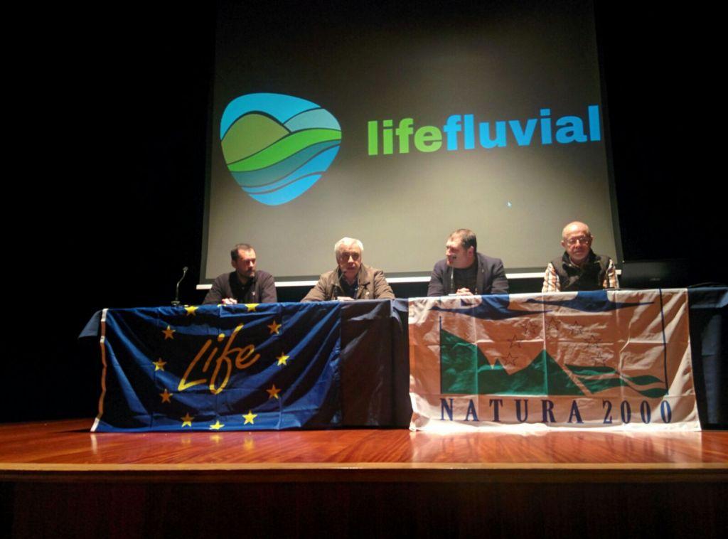 Foro Asturias de Vegadeo se interesa por el proyecto Life Fluvial de la Cuenca del Eo