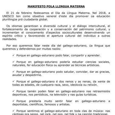 """A. Prieto: """"detrás del turismo hai xente que s' asenta y pode querer conocer a Lingua Materna"""""""
