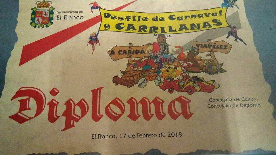 Este sábado, desfile de Entroido y Carrilanas na Caridá (El Franco)