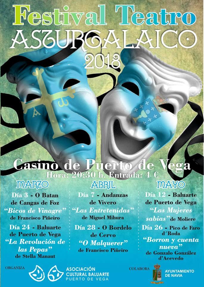 Certamen Asturgalaico de Teatro en Puerto de Vega