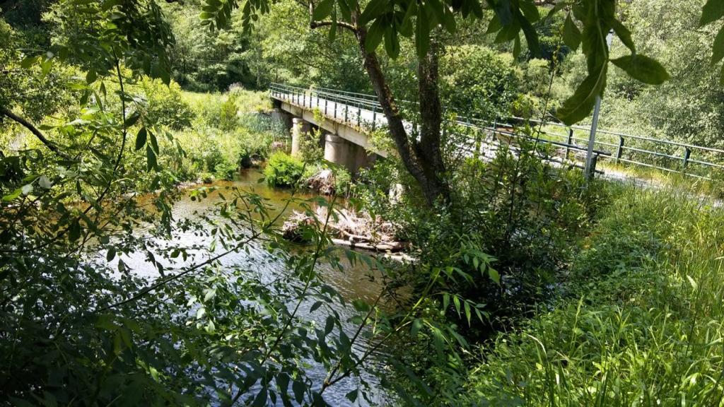 Ciudadanos en Valdés pide la reparación del puente de Fijuecas