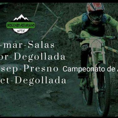 Presno (Castropol), acogerá en septiembre el Campeonato de Asturias de Descenso MTB
