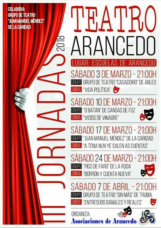 III Jornadas de Teatro en Arancedo (El Franco)