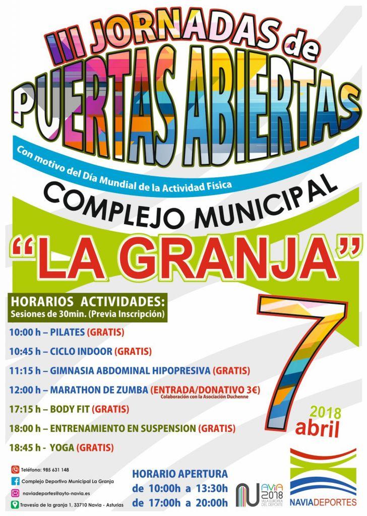 Jornada de Puertas Abiertas del Complejo Deportivo Municipal de La Granja