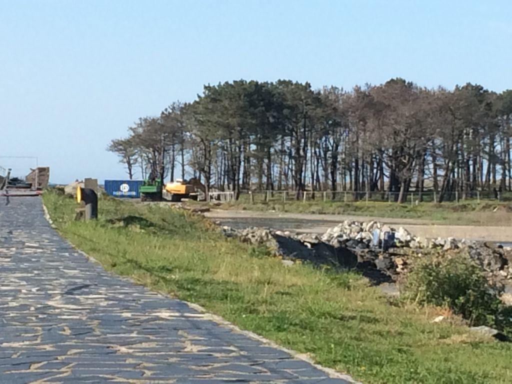 La obra del espigón de la ría de Navia tendrá un coste cercano al millón de €