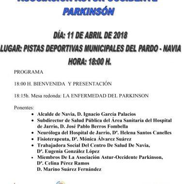 Jornada del Parkinson en Navia, el 11 de abril