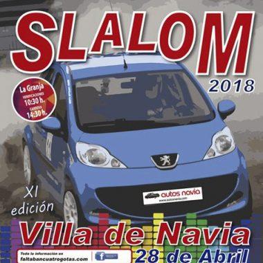 Triunfo de Óscar Varela en el XI Slalom Villa de Navia