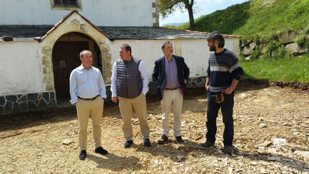 El Principado invierte 116.154 euros en la mejora de espacios públicos de Vegadeo y Santa Eulalia de Oscos