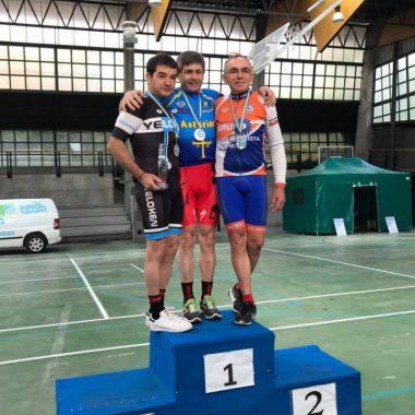 Ovide y Gabriel Pérez, Campeón y Sub-Campeón de Asturias de Maratón BTT en Máster-50