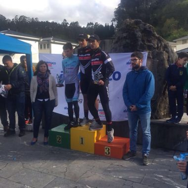 Triunfo de Sergio Gutiérrez en la II Carrera Ciclista de Trevías para Cadetes