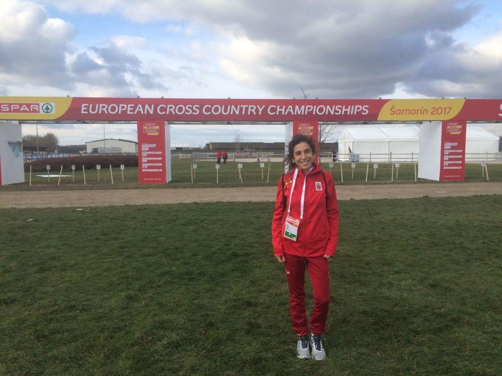Lucía Álvarez, Convocada por la Selección Española de Atletismo para el Campeonato Unión Mediterráneo