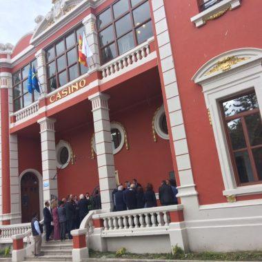 El Casino de Navia, reconocido como Mejor Obra de Pintura Interior y Exterior de un Edificio Singular