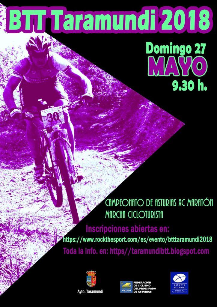 Taramundi acoge el domingo 27 de mayo el Campeonato de Asturias de Maratón BTT
