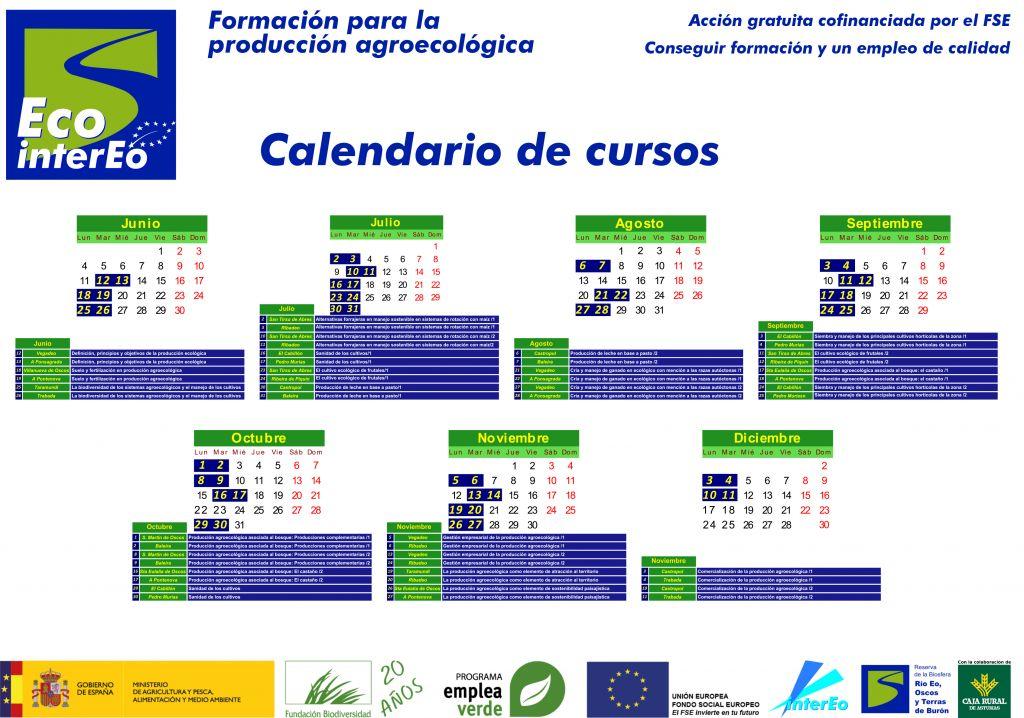Abierto el plazo de inscripción para los cursos de producción ecológica de ECO-INTEREO