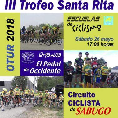 Otur acoge el III Trofeo Santa Rita de Ciclismo para Escuelas