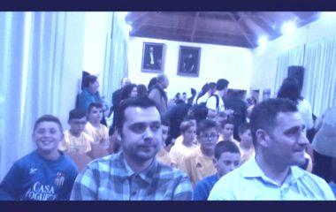Recepción Municipal a la UD Castros por los ascensos de tres de sus equipos