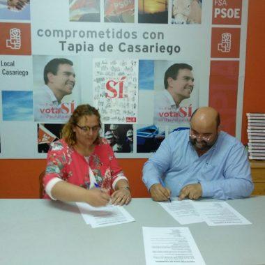 Acuerdo entre Psoe y Foro Asturias para gobernar en Tapia de Casariego