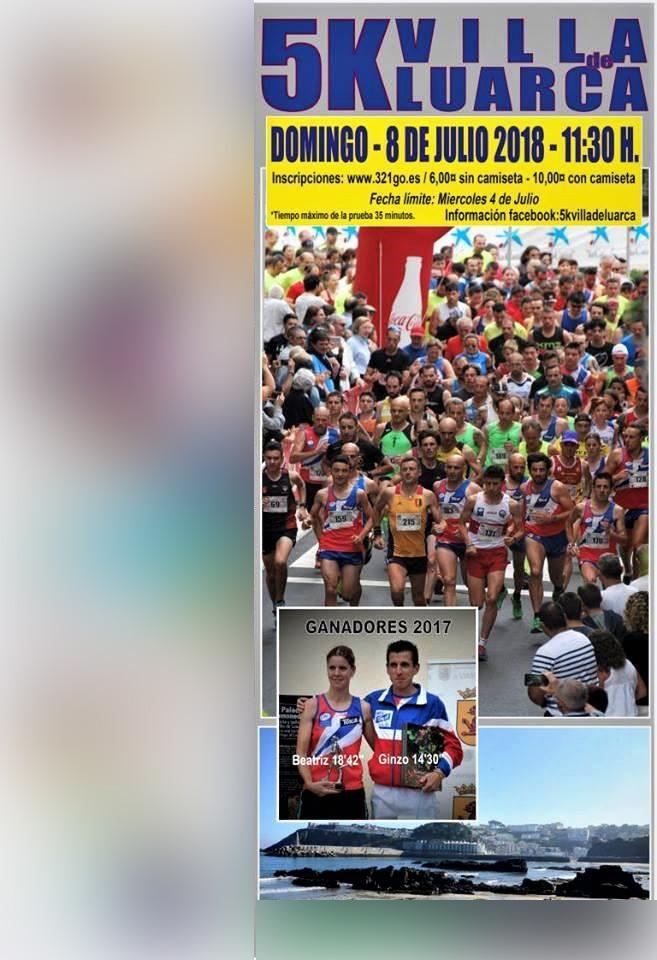 Continúan abiertas las inscripciones para la Carrera 5 Kms. Villa de Luarca que se celebra el domingo 8 de julio