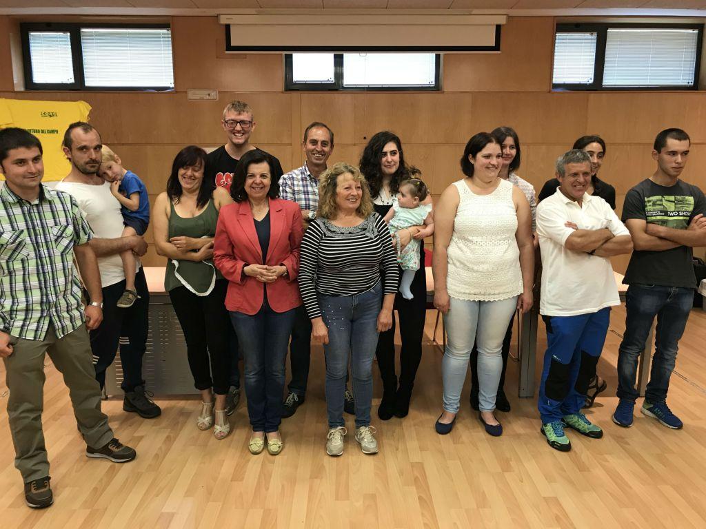 """L@s jóvenes ganader@s asturian@s """"tienen una alta cualificación"""""""