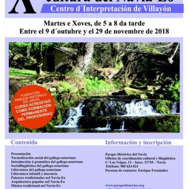 Aberto el plazo de matrícula pal X Curso de Llingua y Cultura del Navia-Eo