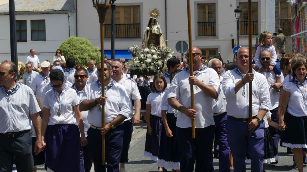 Tapia celebra sus fiestas en honor a la patrona, la Virgen del Carmen