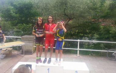 Triunfo de Carla Suárez en el Trofeo Santiago de Escuelas de Ciclismo