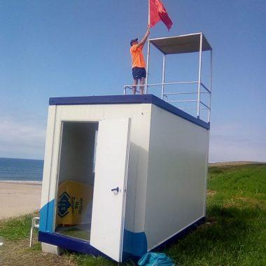 Bandera Roja en las playas de El Anguileiro y de Serantes (Tapia de Casariego) por contaminación fecal